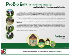 Pro Bio Emy w chowie i hodowli bydła. Zakiszanie kiszonki z kukurydzy.