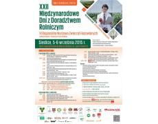 XXII Międzynarodowych Dniach z Ddoradztwem Rolniczym połączone z XI Regionalną Wystawą Zwierząt Hodowlanych