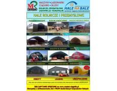 HALE bezfundamentowe dostępne na  Modernizację gospodarstw rolnych