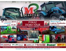 """POKAZY DEMO TOUR- Szkolne manewry """"POKAZ i UPRAWA z firmą MASTER"""" W Leśnej Podlaskie 19.11.2015r."""