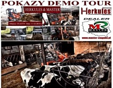POKAZY DEMO TOUR HERKULES i MASTER w Olszynie 11.12.2015r.