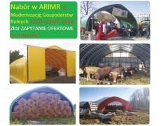 Nabór w ARIMR na Modernizację Gospodarstw rolnych 2016. Złóż ZAPYTANIE OFERTOWE na maszyny !
